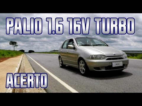 (New) Fiat palio 1.6 16v turbo @ 1,2bar acerto