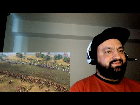 (New) Age of empires 4 - official norman campaign reveal trailer - reaction