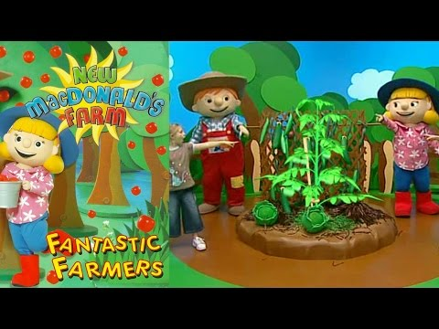 (New) New macdonalds farm | helping things grow song