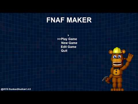 (New) Fnaf maker | creating my own dope fan game