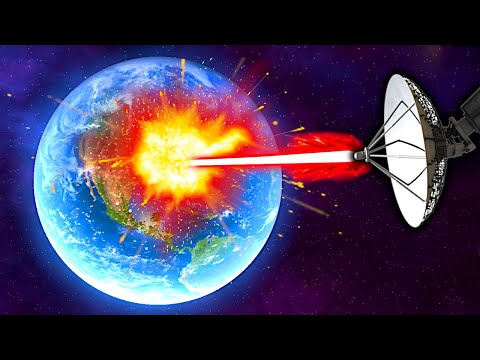 (New) I blew up earth with an orbital cannon! - solar smash gameplay
