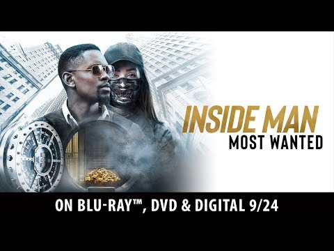 (New) Inside man: most wanted | trailer | own it now on blu-ray, dvd e digital