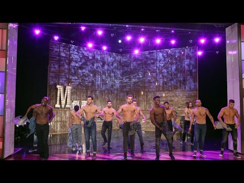 (New) The magic mike live dancers perform