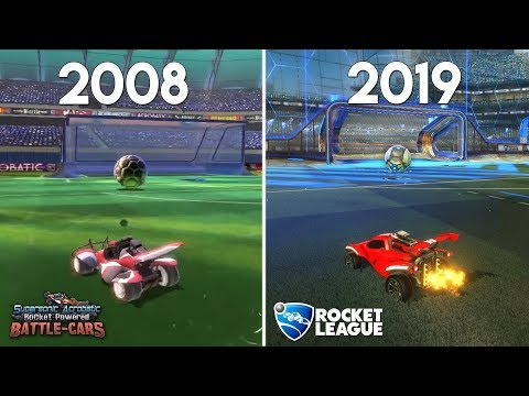 (New) Evolution of rocket league (2008-2019)