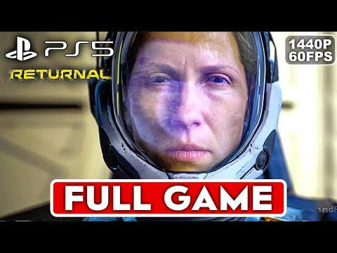 (New) Returnal ps5 gameplay walkthrough part 1 full game [1440p 60fps] - no commentary