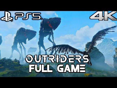 (New) Outriders ps5 gameplay walkthrough full game (4k 60fps) no commentary