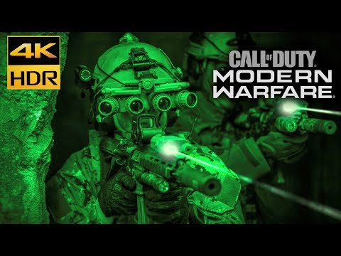 (New) Call of duty: modern warfare 4k hdr xbox one x walkthrough gameplay part 10 wolfs den no commentary