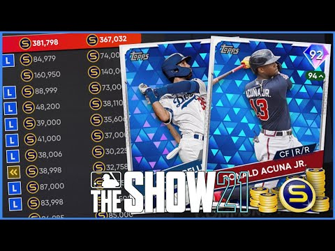 (New) The #1 method to make stubs in mlb the show 21 diamond dynasty | flipping cards 101