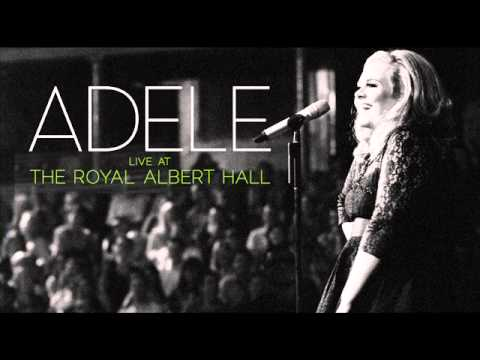(New) Adele - set fire to the rain  live at the royal albert hall  (audio)