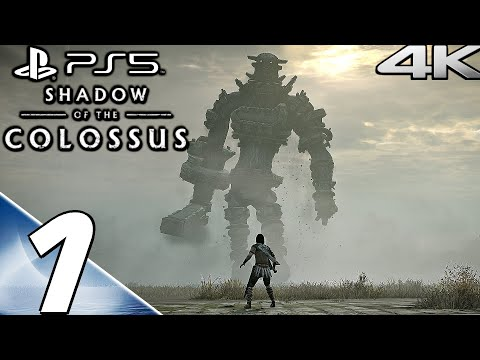 (New) Shadow of the colossus (ps5) - gameplay walkthrough part 1 - colossi 1-3 (4k 60fps)