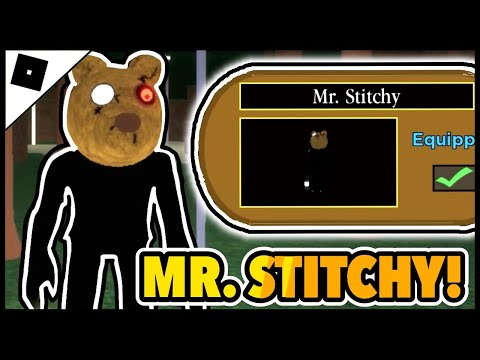 (HD) ► how to get the mr. stitchy skin e find all the candles in the piggy [halloween event] || roblox