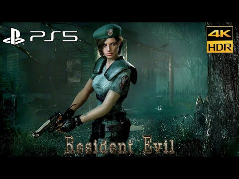 (New) Resident evil 1 hd remastered ps5 upscale 4k hdr - gameplay playstation 5