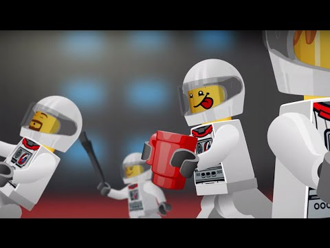 (HD) In space no one can hear you snore - lego city - mini movie (2d)