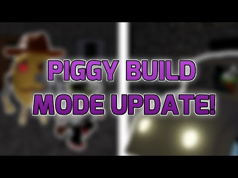 (HD) Piggy build mode update!! - new npcs, events, cars, and more!