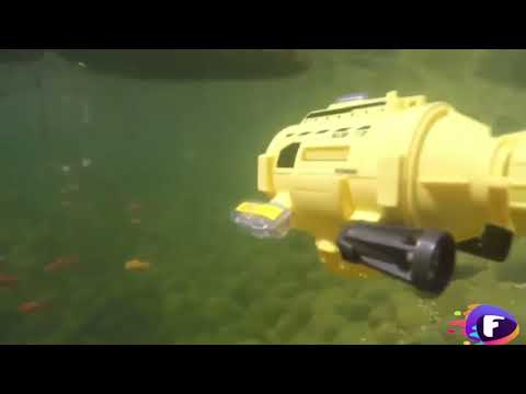 (HD) Remote control rc submarine with camera