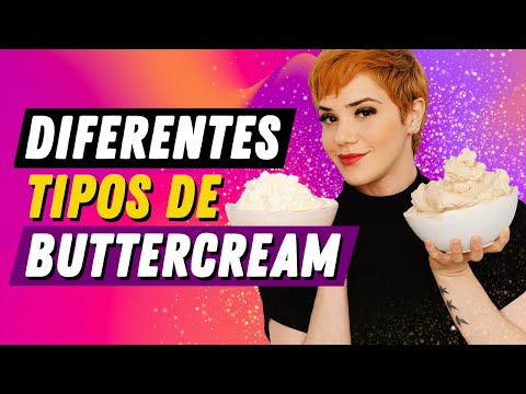 (New) Diferentes tipos de buttercream