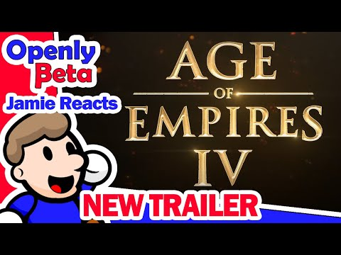 (New) Age of empires 4 gameplay reaction