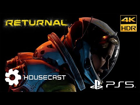(New) Returnal ps5 4k hdr 60fps walkthrough gameplay part #1 playstation 5 lg oled