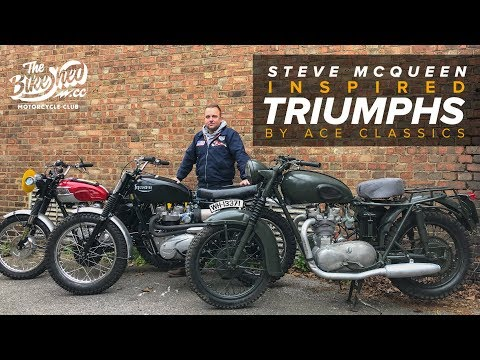 (New) Steve mcqueen great escape inspired triumph by ace classics
