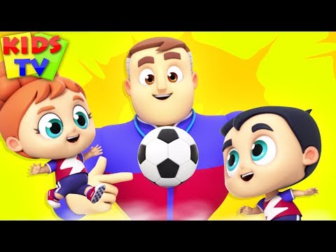 (VFHD Online) Soccer song | the supremes | songs for babies | cartoon videos for kids