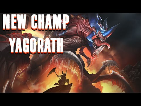 (New) Watch me fail with the new frontline yagorath! | paladins pts gameplay