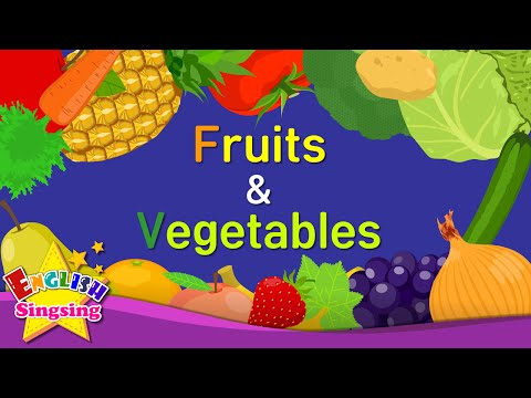 (Ver Filmes) Kids vocabulary -[old] fruits e vegetables - learn english for kids - english educational video