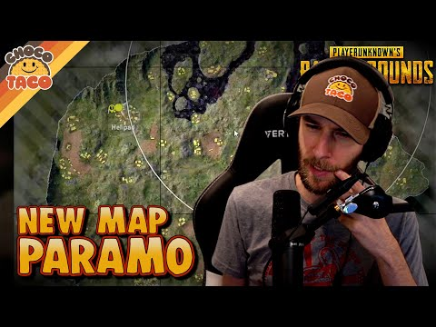 (New) Chocotaco tests new map: paramo - pubg solo squads gameplay