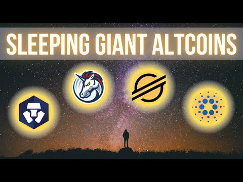 (New) 4 sleeping giant altcoin gems may 2021