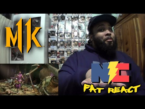 (New) Mortal kombat 11 ultimate mileena all intro dialogues reaction!!! -the fat react!