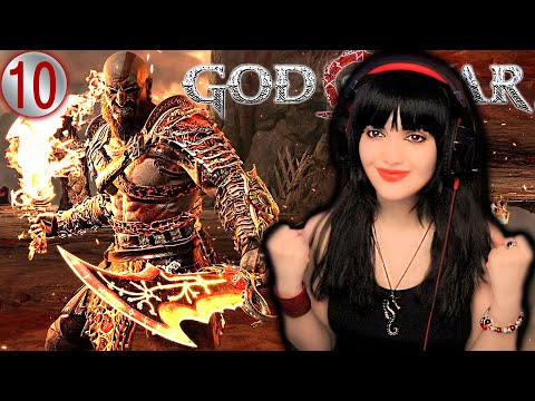 (New) Blades of chaos got me emotional | god of war blind playthrough and reaction pt.10 |gamer girl plays