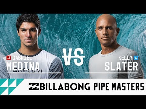 (Ver Filmes) Gabriel medina vs. kelly slater - round five, heat 3 - billabong pipe masters 2017