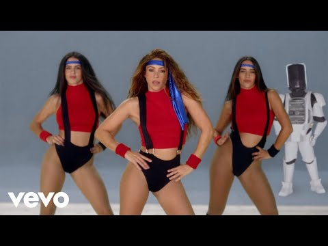 (New) Black eyed peas, shakira - girl like me (official music video)