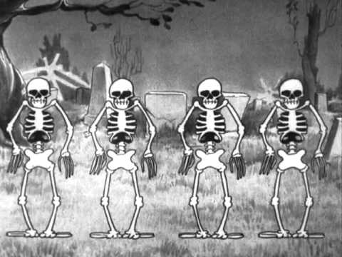 (New) Silly symphonies - the skeleton dance