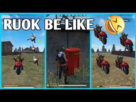 (New) Ruok be like || free fire funny moment🤣🤣