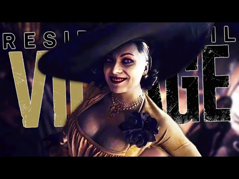 (New) Lady dimitrescu licked my hand | resident evil village - part 2