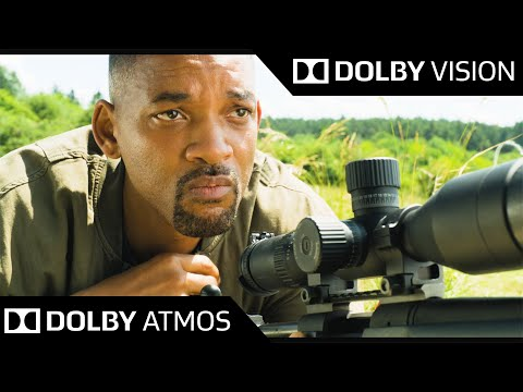 (New) 4k hdr 60fps ● sniper will smith (gemini man) ● dolby vision ● dolby atmos