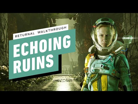 (New) Returnal ps5 gameplay walkthrough part 4 - echoing ruins (1080p) no commentary