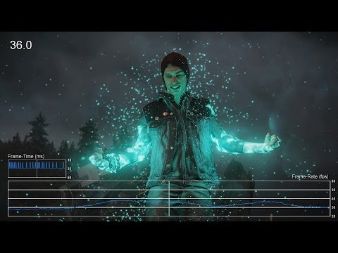 (New) Infamous: second son ps4 frame-rate tests