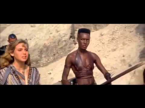 (Ver Filmes) Grace jones how do you attract a man clip from conan the destroyer