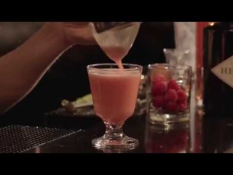 (HD) Sponsored: clover club cocktail - the proper pour with charlotte voisey