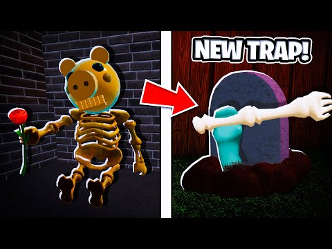 (HD) How to unlock tombstone trap! (limited) l roblox piggy: book 2