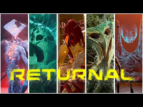 (New) Returnal - all boss fights + ending e credits gameplay (ps5 4k)