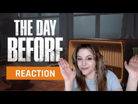 (New) My reaction to the the day before exclusive official gameplay trailer | gamedame reacts