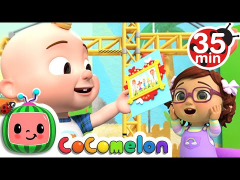 (New) Learn abcs with jj! + more cocomelon kids songs e nursery rhymes
