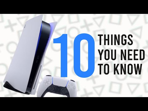 (New) Ps5: 10 things you need to know