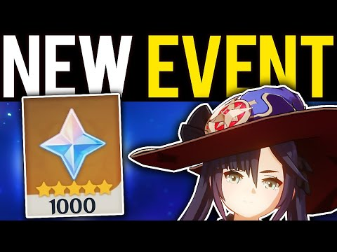 (New) New loot event! new update story quest! e more - genshin impact