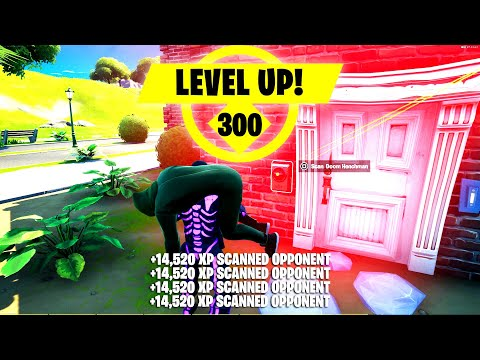 (HD) *do this* solo xp glitch ! right now (working) level up fast to level 300 fortnite xp glitches