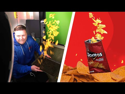 (Ver Filmes) I made a doritos commercial in my dining room