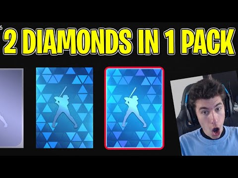 (New) 2 diamonds in 1 pack in mlb the show 21 diamond dynasty