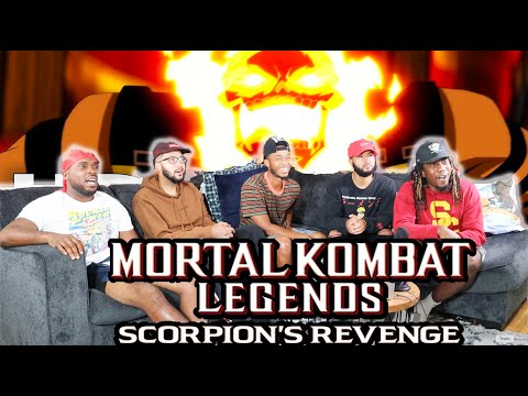 (New) Scorpion gets his revenge (scorpion vs quan chi) | reaction review